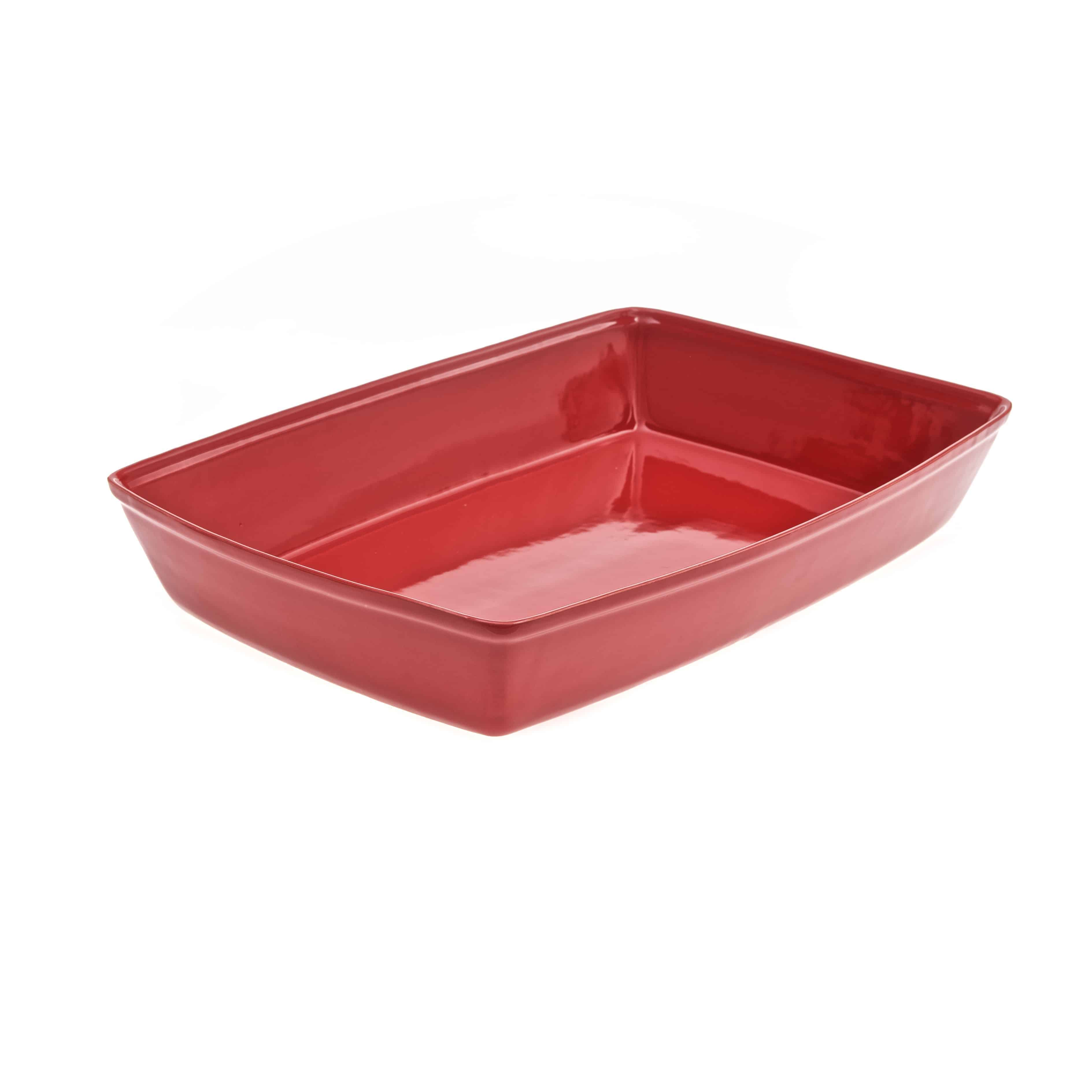 GRU1RD GRUNDY DISH EQUIVALENT RED