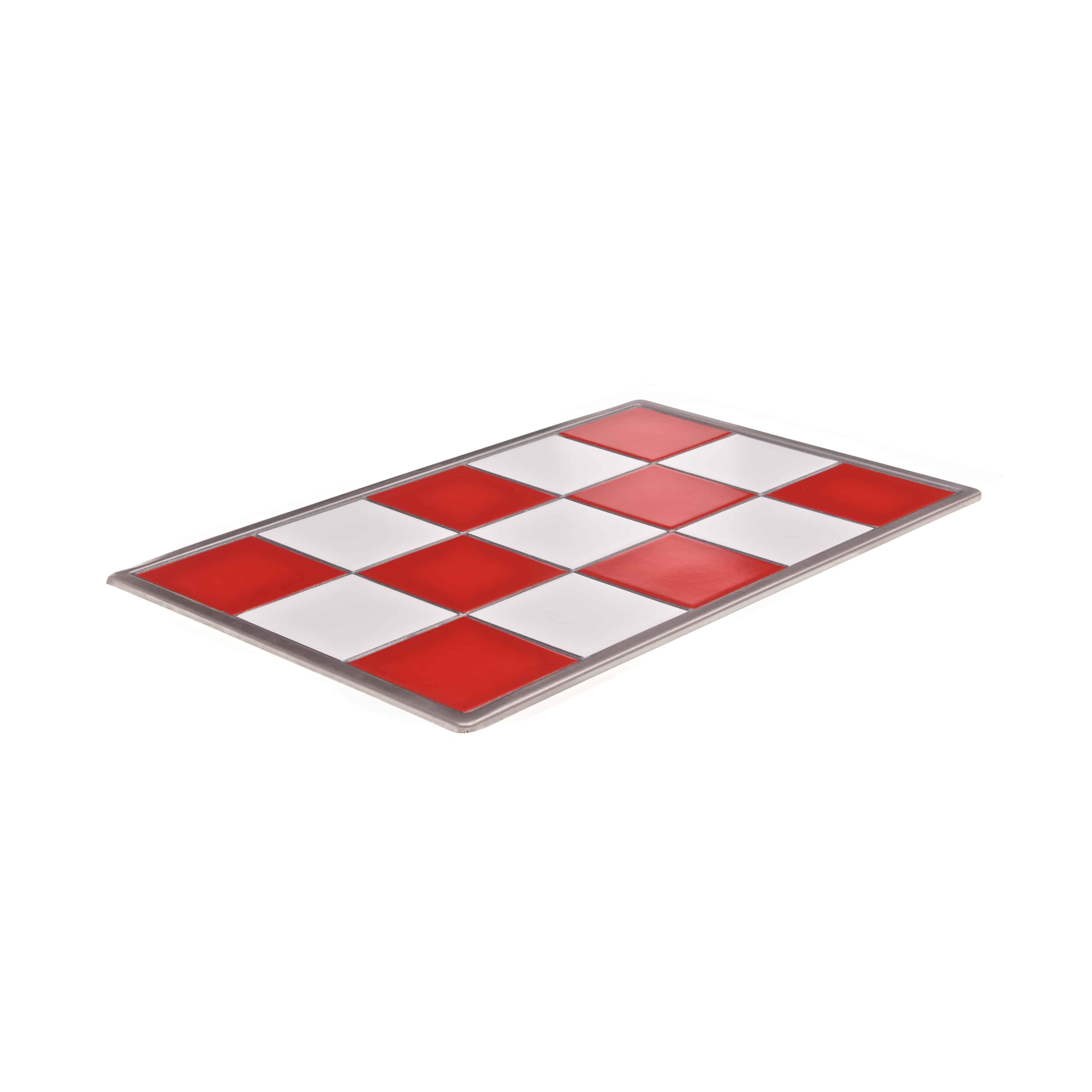 Red White Ceramic Tile Topsimages
